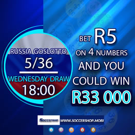 Russia Goslotto Betting Odds
