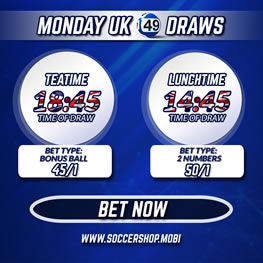 UK 49's Fixed Odds Lotto Betting