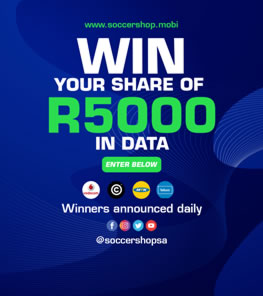 Win your share of R5000 in data