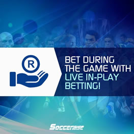 Soccer Shop In Play Betting