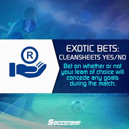 Soccer Exotic Betting Odds